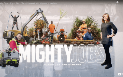 Volvo Penta Mighty Jobs – Episode – The mighty people behind the mighty machines
