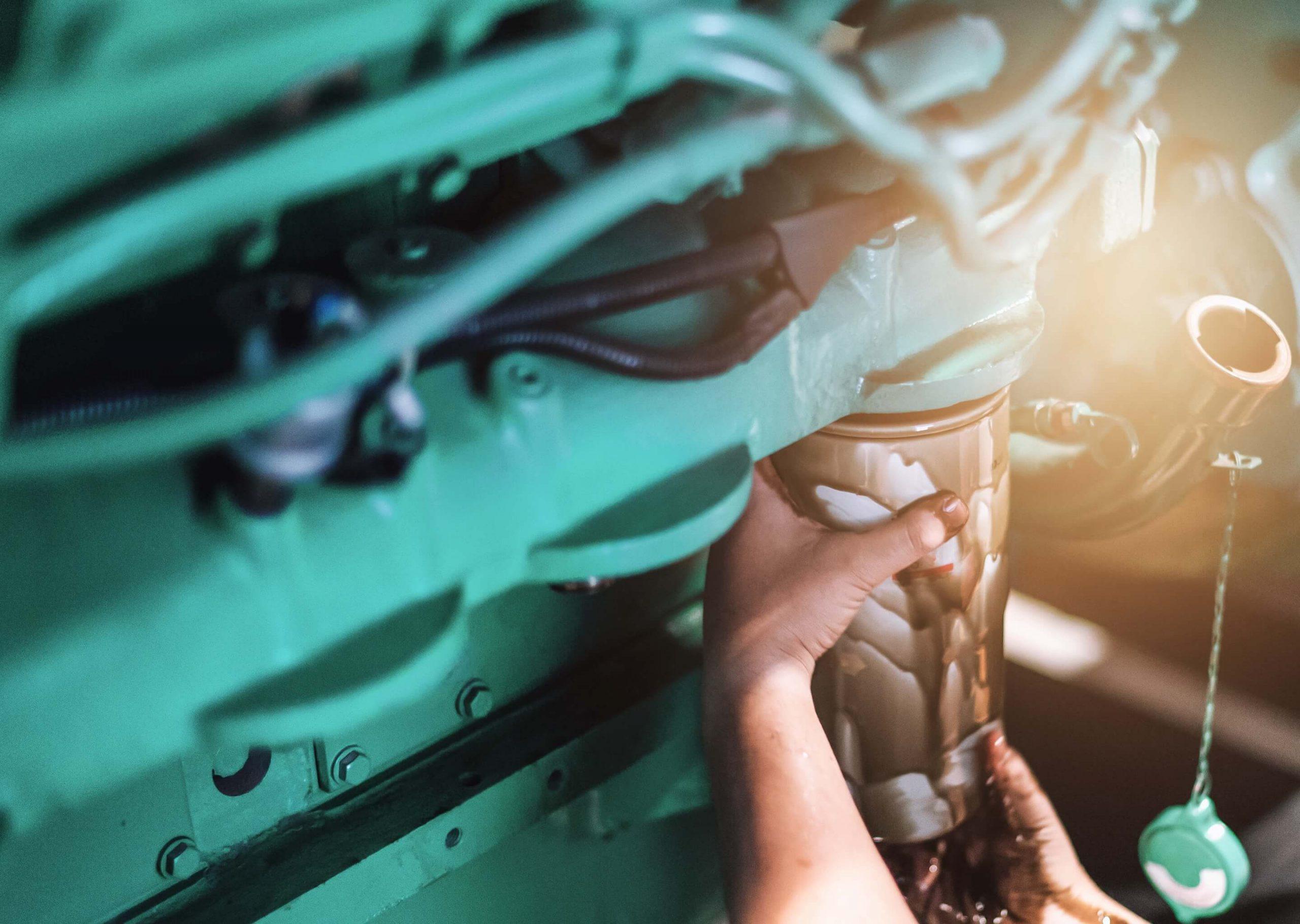 Diesel motor revisie